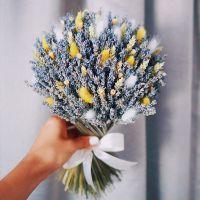 Букет с сухоцветами №77