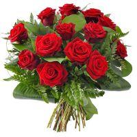 Букет красных роз «Париж»