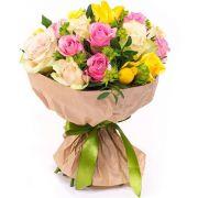 Букет роз «Калейдоскоп эмоций»