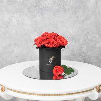 Розы «Нина» в черной коробке Small