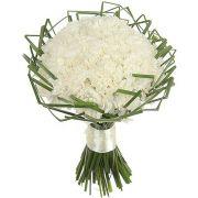 Свадебный букет невесты с диантусом №218