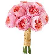 Свадебный букет невесты с пионовидными розами №234