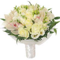 Свадебный букет невесты с орхидеями №259