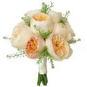 Свадебный букет невесты с пионовидными розами №268