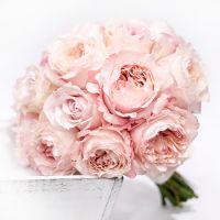 Свадебный букет невесты с розами Остина №280