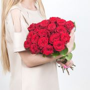 Букет роз «Красное море»