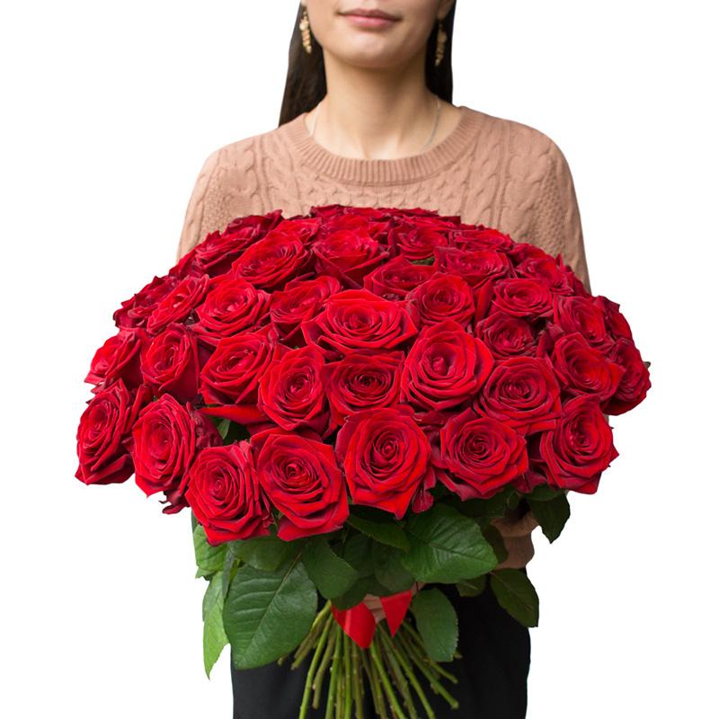 101 красная роза (50 см)