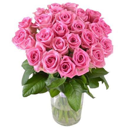 Букет розовых роз «Мерилин»