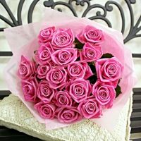Букет с розами «Мармелад»