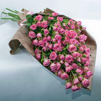 Букет кустовых роз «Единственная и неповторимая»