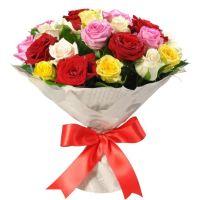 Букет роз «Яркий момент»
