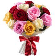 Букет роз микс «Эстет»