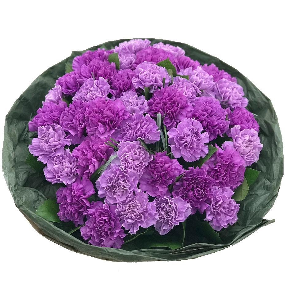 Букует с диантусом «Сиреневый сад»