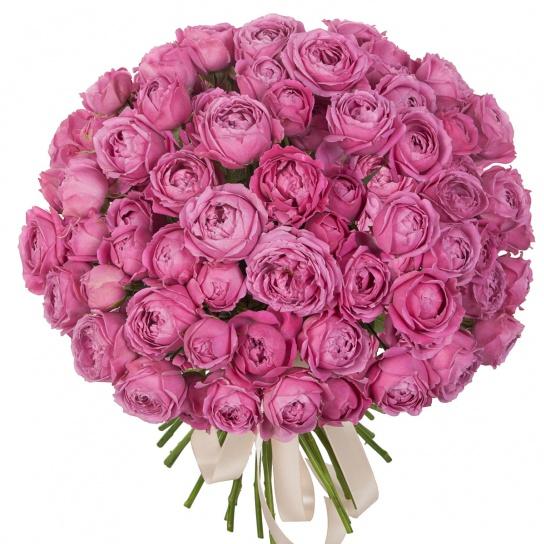 Округлый букет роз «Мисти бабблс» (29 шт)