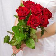 Букет красных роз 70 см «Карина»