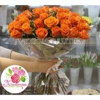 101 оранжевая роза «Вайлдкард»