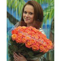 61 персиковая роза «Мисс Пигги»