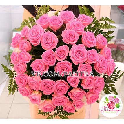 41 розовая роза «Аква»