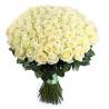 101 белая роза «Вайт Наоми»