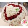 Букет из  хризантем кустовых и роз «Люксор»