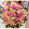 Букет из орхидей и кустовых роз