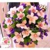 Букет из орхидей и статицы