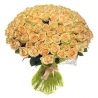 101 бежевая роза «Пич Аваланж»