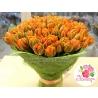 101 тюльпан оранжевый в натур. упаковке